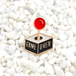 Jewelry - Game Over Enamel Pin